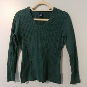 Basic Editions Cable Knit Sweater